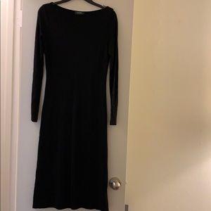 Black Lauren by Ralph Lauren Midi Dress